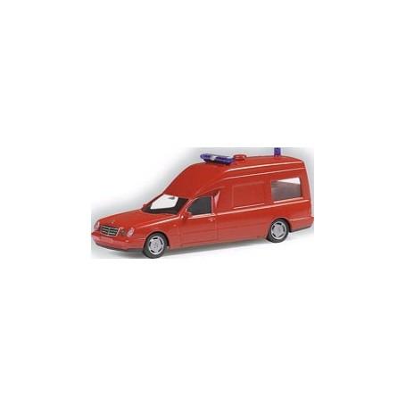 Herpa 044912 Mercedes Benz W110 Binz Feuerwehr KTW
