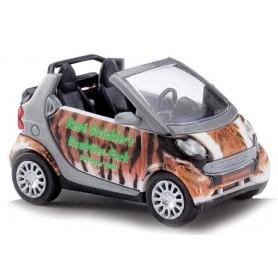 """Busch 46192 Smart Fortwo Cabriolet """"René Strickler"""""""