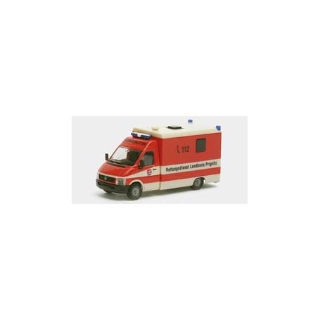Herpa 045292 VW LT Strobel Rettungsdienst Prognitz RTW