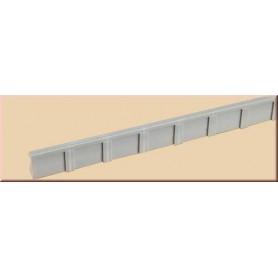 Auhagen 41200 Perrongkanter, 6 st, 241 x 13 mm