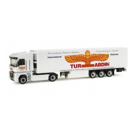 "Herpa 155342 Renault Magnum refrigerated box semitrailer ""Tur-Abdin"""