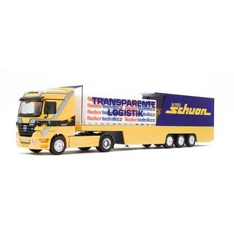 """Herpa 264815 Mercedes Benz Actros LH box semitrailer """"Schuon"""""""