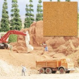 Busch 7141 Sand, röd, 250 gram i påse.
