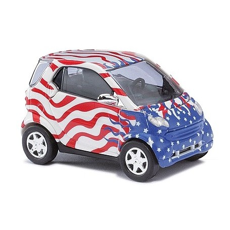 """Busch 48983 Smart Fortwo """"Crazy Cars"""""""