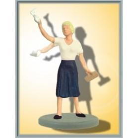 Viessmann 5055 Vinkande fru med rörlig arm