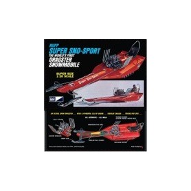 "MPC 701 Rupp Super Sno-Sport ""The World's First Dragster Snowmobile"