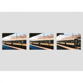 """Märklin 43809 Personvagnsset """"Silver Coin"""" 3 typ Luxembourg State Railways CFL"""