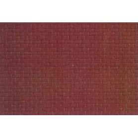 Kibri 34122 Murplatta, plast, mått 20 x 12 cm