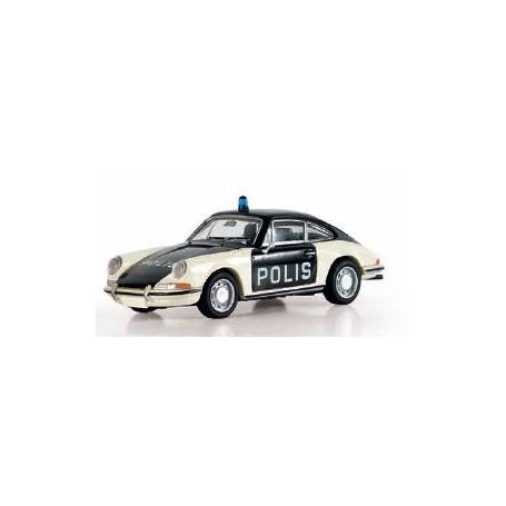 """Brekina 16221 Porsche 911 Coupé """"Polis"""", TD"""