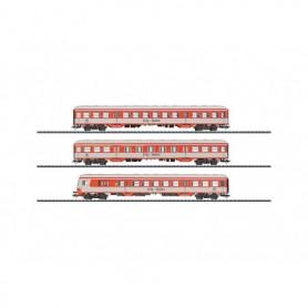 "Trix 23434 Utbyggnads vagnsset ""City-Bahn"", 3 st vagnar"