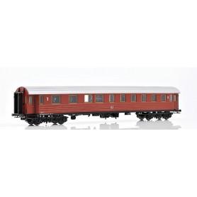 NMJ 220103 Personvagn SJ BCo7b 2:a/3:e klass 4462 med korrugerat tak 1940-tal