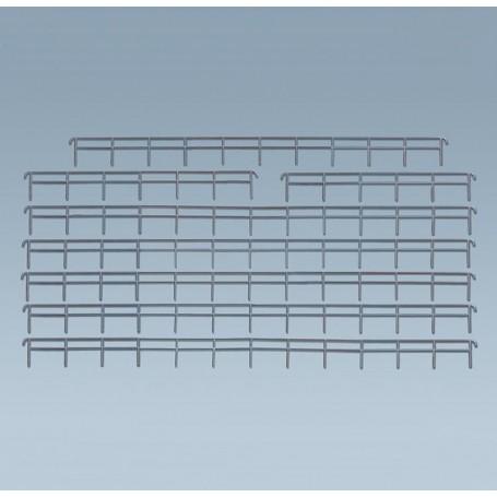 Faller 272404 Järnstaket, 12 delar, längd 976 mm
