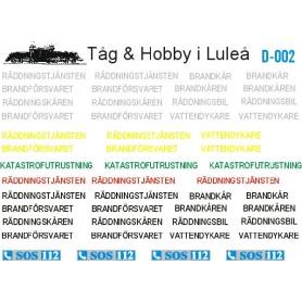 Tåg & Hobby D002