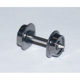 Fleischmann 537013 Hjulaxel, N-skala, fleischmann standard, spetslager,1 st