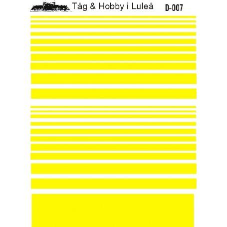Tåg & Hobby D007 Dekalark