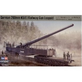 Hobby Boss 82903 German 280mm K5(E) railway Leopold Gun