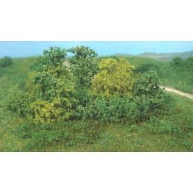 Heki 1646 Naturbuskar, 20 st, olika grönkulörer