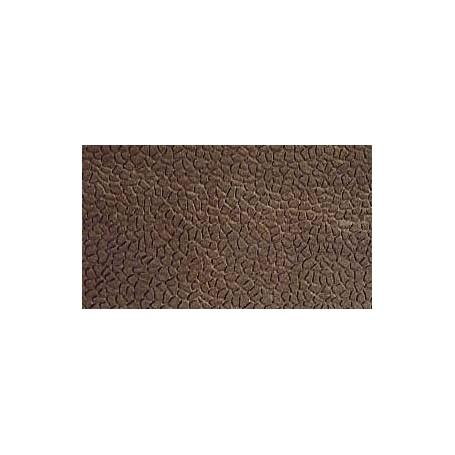 Merkur 301034 Murplatta, bruksstensmurverk, grå-rustik, styroplast, 20 x 50 cm