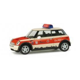 """Herpa 048101 Mini Cooper ™ """"Giessen rescue service"""""""
