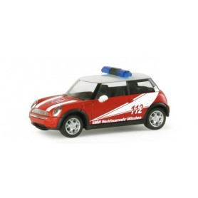 "Herpa 048132 Mini Cooper™ ""BMW plant fire department"""