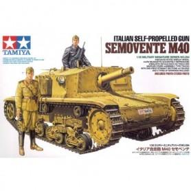 Tamiya 35294 Tanks Italian Self-Propelled Gun Semovente M40