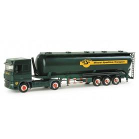 "Herpa 155755 DAF XF 105 SC silo semitrailer 60m³ ""MST"""