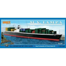 "IMEX 884 Fartyg M.V. Tampa ""Full container ship with triple screw"""