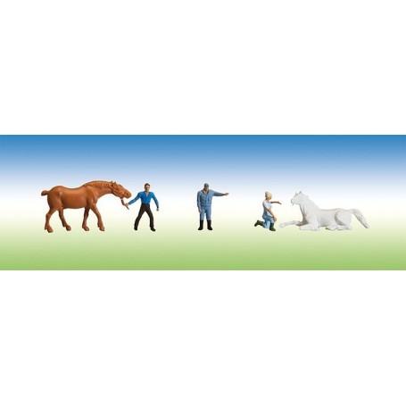 Faller 153029 Veterinärer med djur