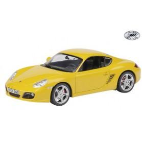 Schuco 07302 Porsche Cayman S - 2nd Generation, gul