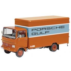 """Schuco 03524 Mercedes Benz LP608 """"Porsche Gulf"""""""