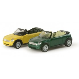Herpa 034197 Mini Cooper? convertible, metallic
