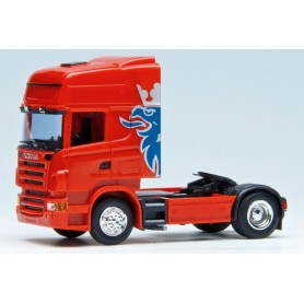 Herpa Exclusive 580351 Dragbil Scania R Topline