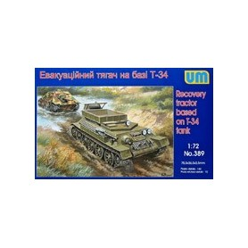 UM Unimodels 389 Markfordon Recovery tractor based on T-34 tank