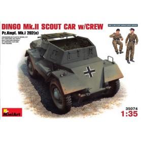 MiniArt 35074 Markfordon Dingo Mk.II Scout Car w/Crew (Pz.Kmpf. MK.I 202(e)