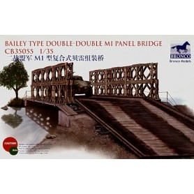 Bronco 35055 Bailey Type Double-Double M1 Panel Bridge