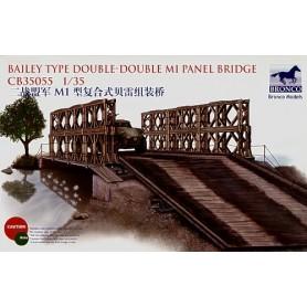 Bronco 35055 Bailey Type Double-Double M1 Panel Bridge