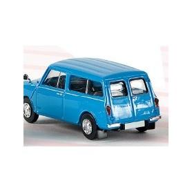 Brekina 15301 Austin Mini Countryman Kombi, ljusblå, TD