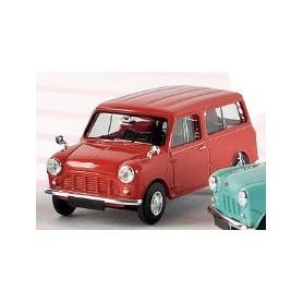 Brekina 15303 Austin Mini Countryman Kombi, karminröd, TD