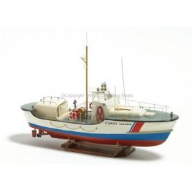 """Billing Boats 100 U.S. Coast Guard """"44329"""", komplett byggsats i trä med plastskrov"""