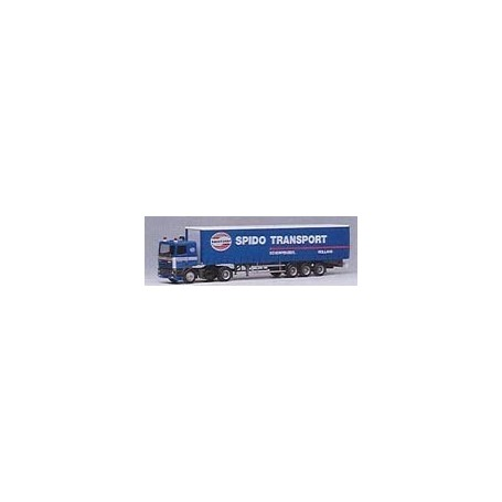 "Herpa 001331 DAF 95 Bil & Skåptrailer ""Spido Transport - Bakker Groep"""
