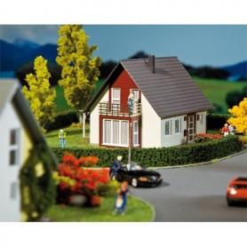 Faller 232323 Villa, vinröd