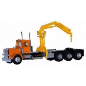 Promotex 6373 Dragbil Peterbilt, Triple Drive, All Terrain Tires, Hoist
