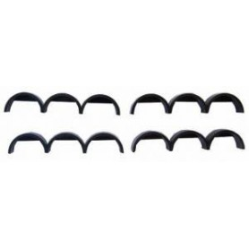 Promotex 5385 Fenders - Package Of 4, Black