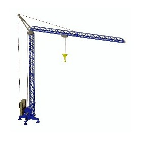Promotex 6389 Construction Crane In Blue