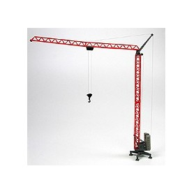 Promotex 6392 Construction Crane In Red