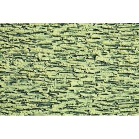 Noch 57450 Bruksten rustik, grå, 3D, mått 30 x 12 cm