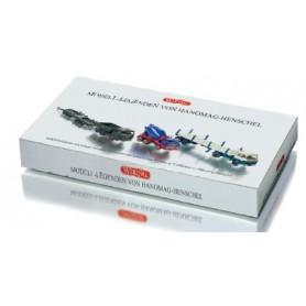 Wiking 99064 Set Hanomag Henschel