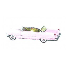 "MRC 79200 Cadillac 1955 Elvis ""Pink Cadillac"" Specialmodell"