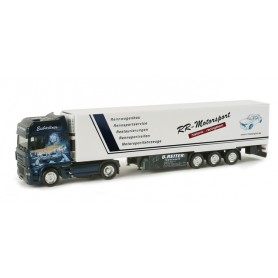 "Herpa 156745 DAF XF 95 refrigerated box trailer ""Reiter"""