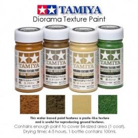 Tamiya 87110 Ljus sandfärg, diorama texture paint grit effect, 100 ml.